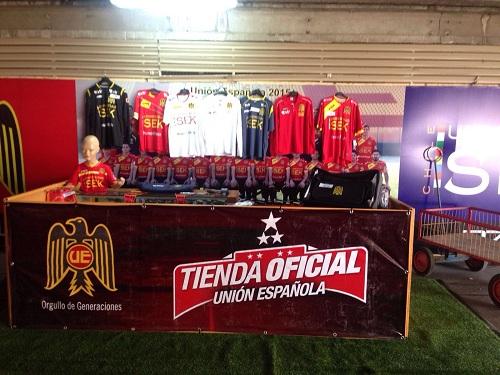 Ven a conocer la Tienda Oficial de Unión Española . fbbfad129bfa0